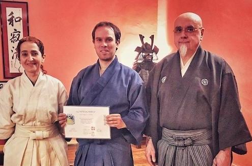 L'arte marziale dello iaido: Terzo Dan per Umberto Canepa